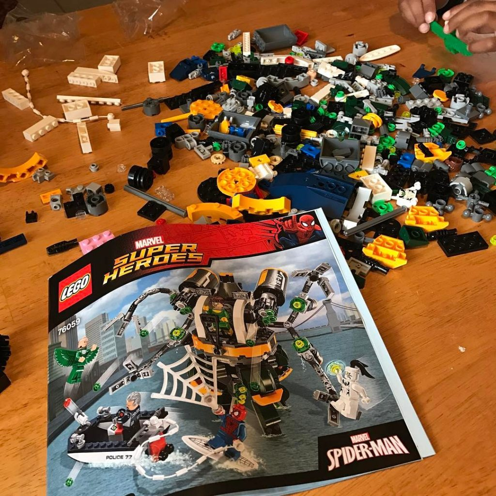 Current situation 446 pieces legostagram legosuperheroes