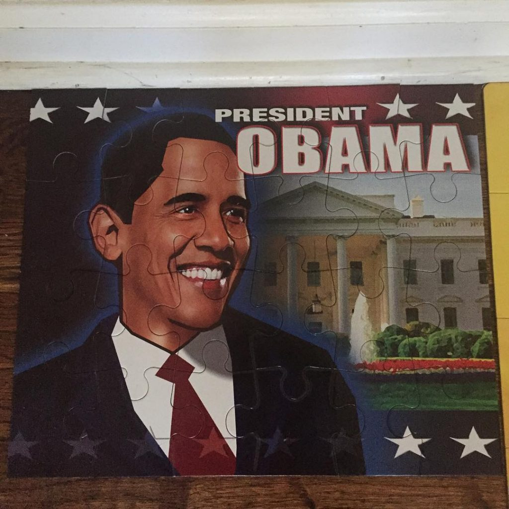 I bought this puzzle for our January BlackHistory activity onhellip