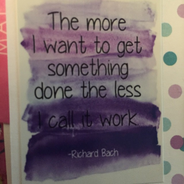 This week's planner sticker quote: