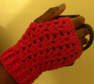 Women's fingerless gloves ($18)