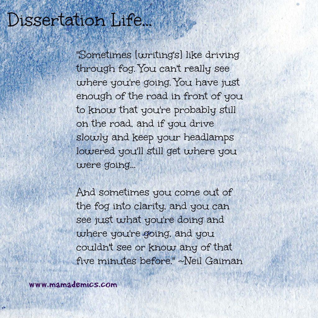 dissertation writing quotes