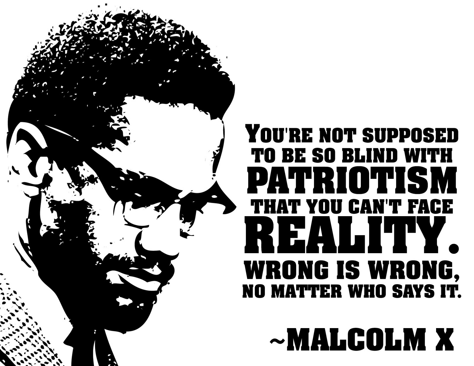 the quotations of malcolm x