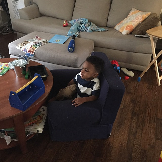 Sesame Street must be very interesting today. I almost didn't…