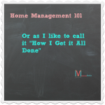 """Home Management' at the #Momference: ""How I Get It All Done…"" (Printables Included)"