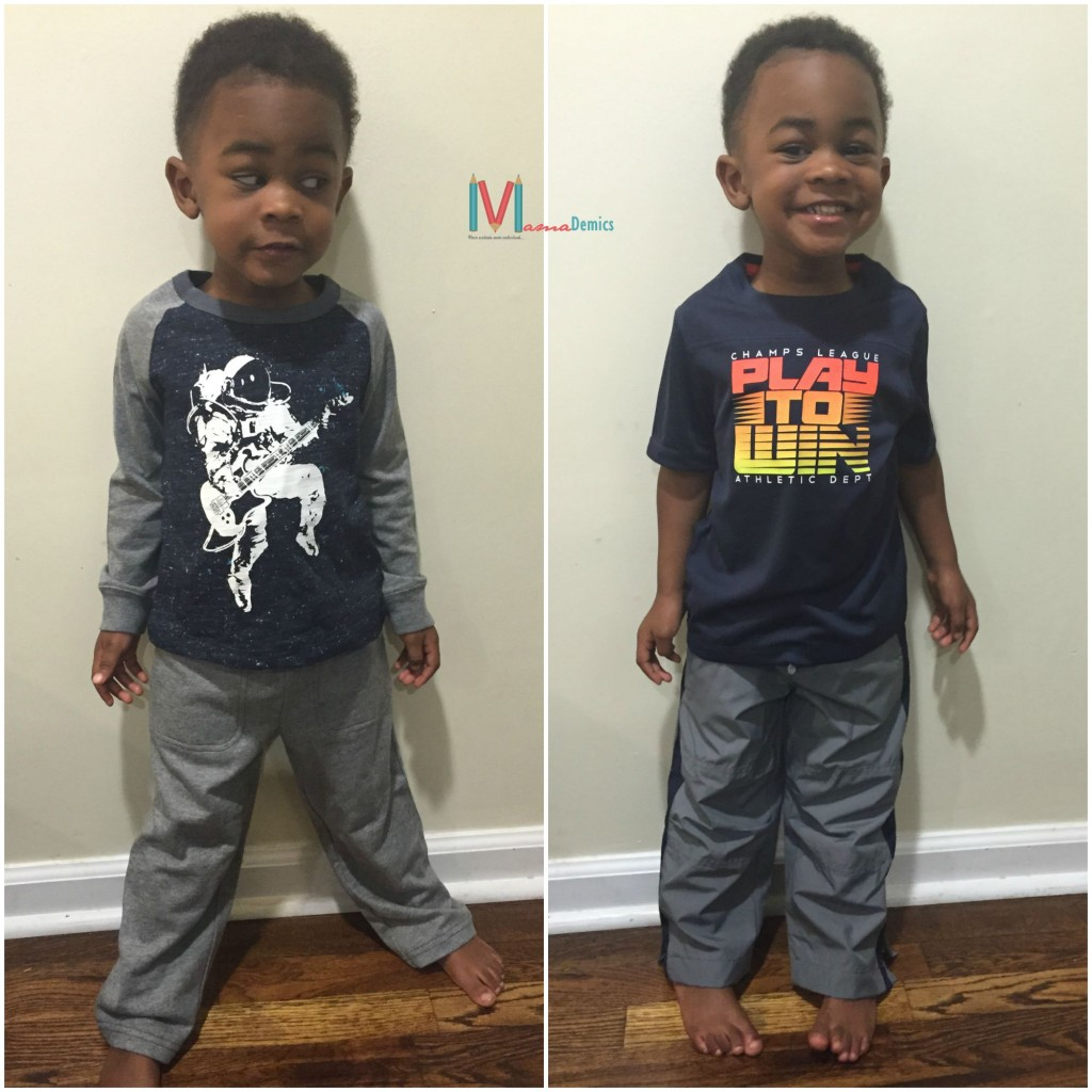 Mamademics | First Big Boy Shopping Trip | Osh'Kosh B'Gosh