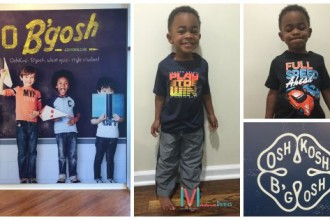 Mamademics | First Big Boy Shopping Trip | Osh'Kosh B'Gosh