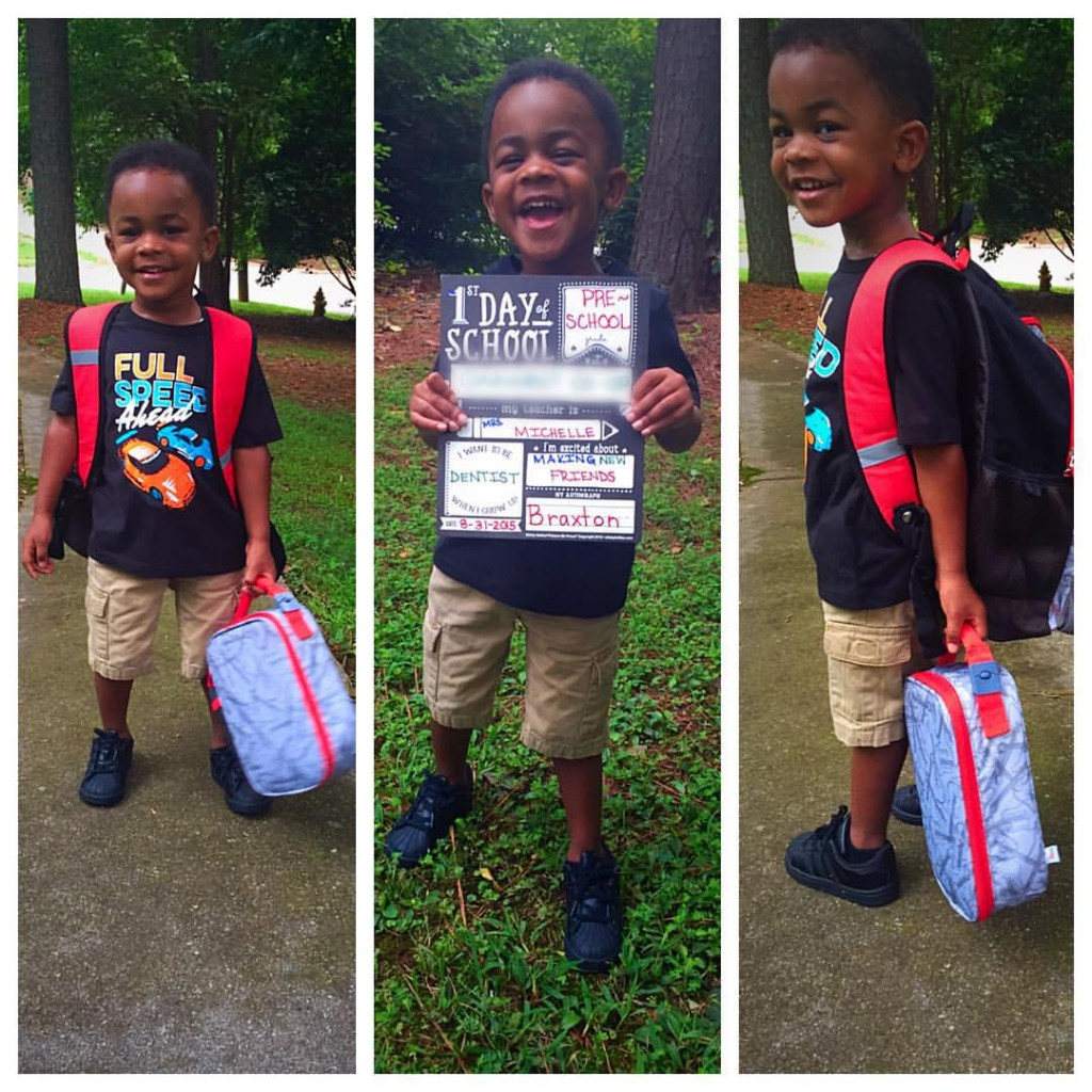 Mamademics | First Day of Preschool | Sesame is a Big Boy
