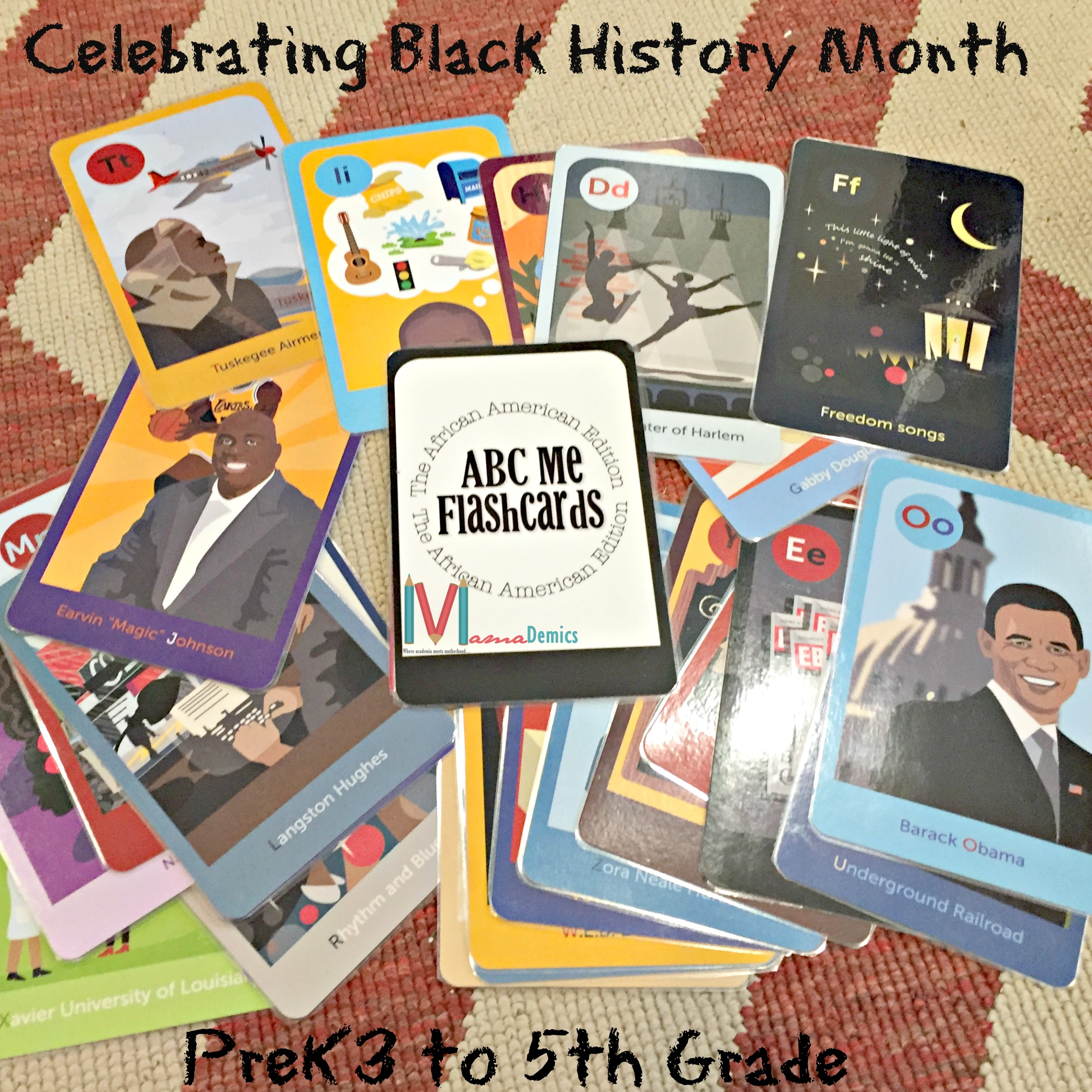 Celebrating  Black History Month: Pre-K3 to 5th Grade