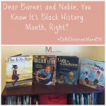 Barnes and Noble, You Know it's Black History Month, right?