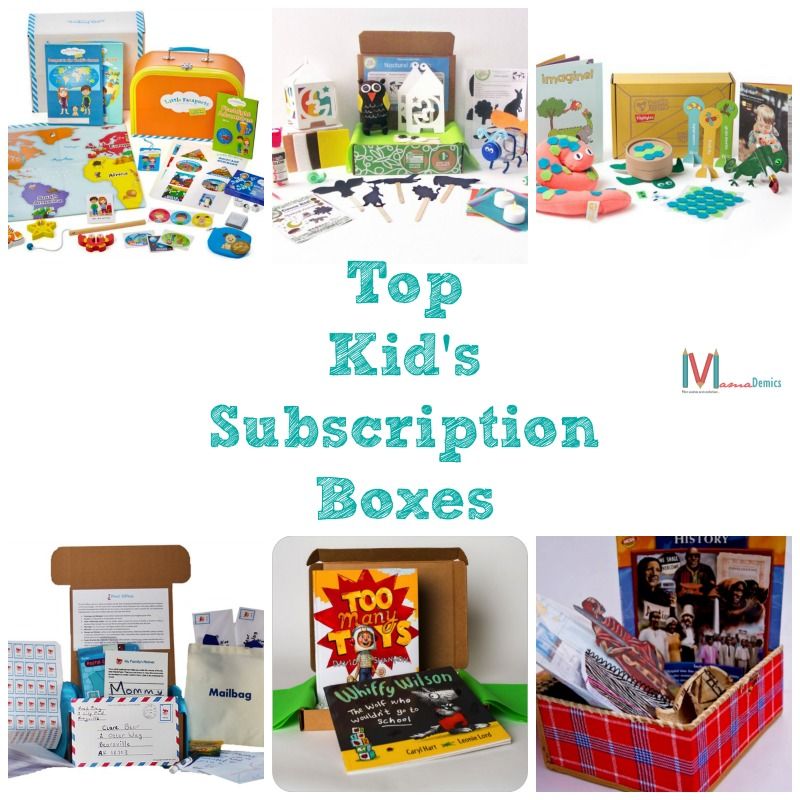 Top Kid's Subscription Boxes to Help You Survive School Breaks