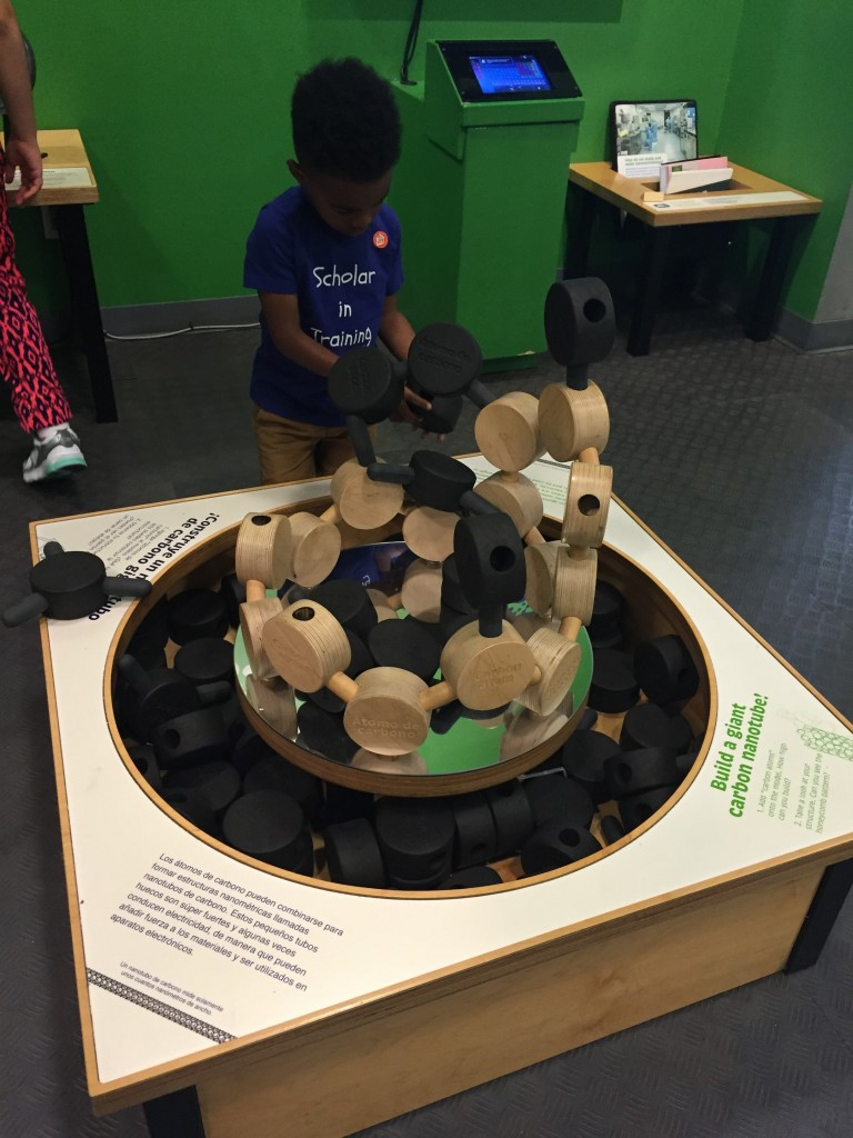 At the children's museum after my presentation.