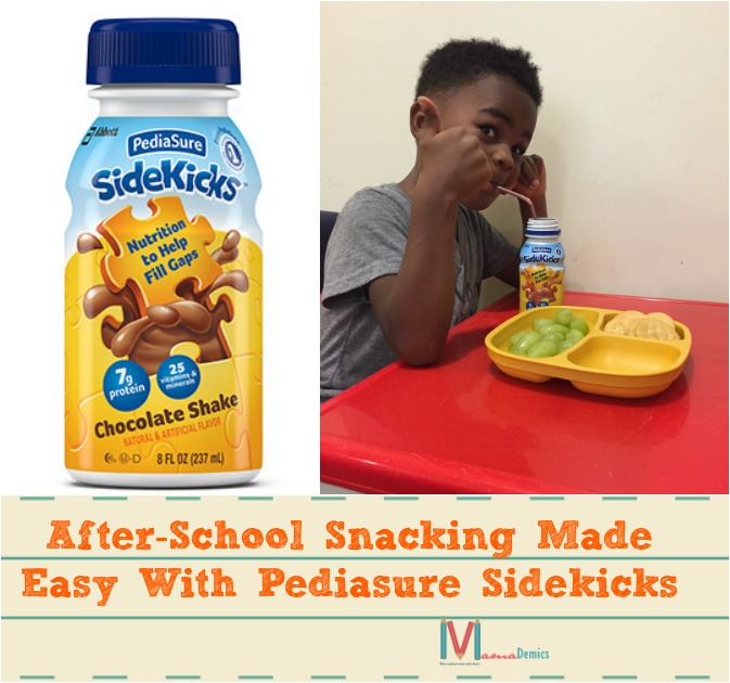 After-School Snacking Made Easy With Pediasure Sidekicks