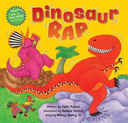 Dinosaur-Rap-Barefoot-Book -of-Children
